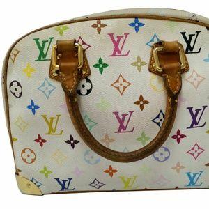 LOUIS VUITTON  Monogram Multicolor Satchel Bag